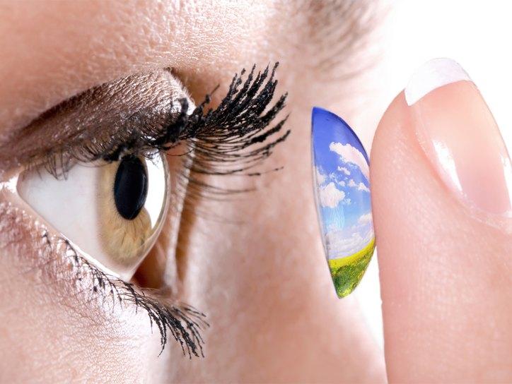 Полезная информация о контактных линзах
