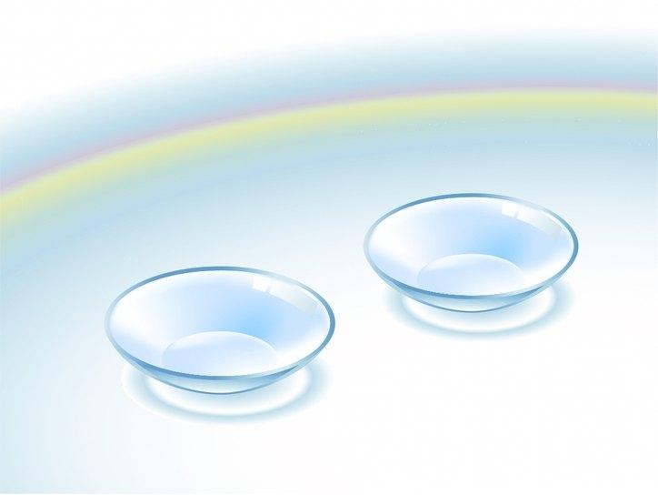 Жесткие контактные линзы, особенности, правила ухода.
