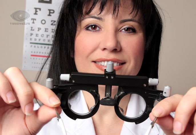подбор очков у офтальмолога