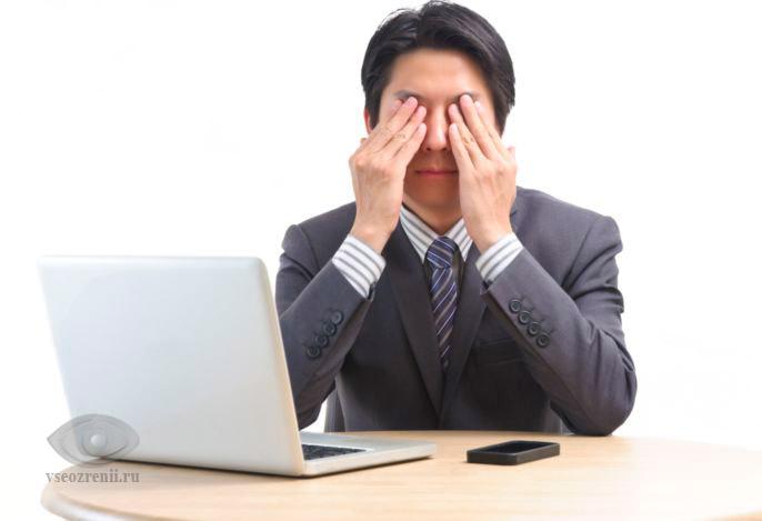 аллергия на глазах симптомы