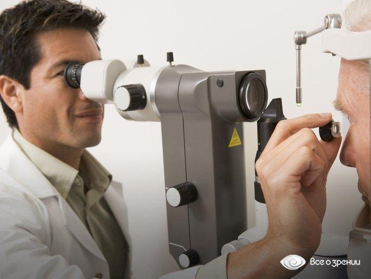обследование у офтальмолога при кровоизлиянии в глаз