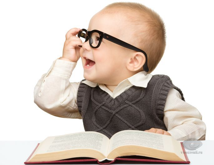 Фото ребенок в очках