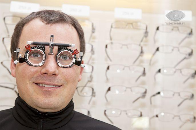 Длина оси глаза при близорукости