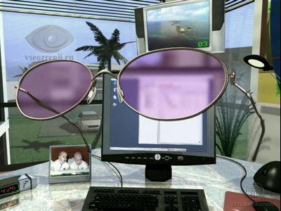 монофокальные очки